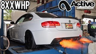 Big Turbo 335i Hits the Dyno!