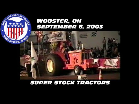9/6/03 OSTPA Wooster, OH Super Stock Tractors