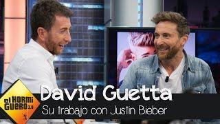 David Guetta desvela en los detalles de su colaboración con Justin Bieber  - El Hormiguero 3.0