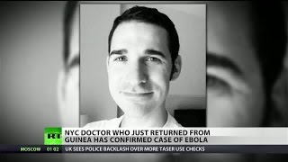 New York City doctor contracts Ebola