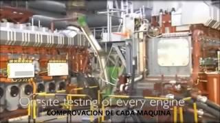 fabrication incroyable moteur diesel le plus grand du monde moteur gant