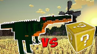 DINOSSAURO VS. LUCKY BLOCK (MINECRAFT LUCKY BLOCK CHALLENGE)