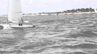 Rooster Streaker Wave Sail Testing