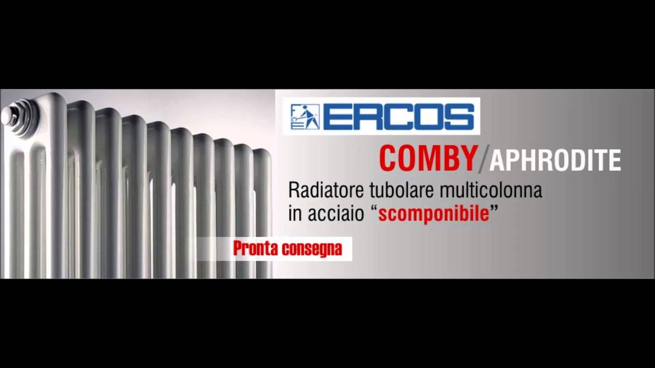 radiatori in acciaio ercos comby multi colonna youtube