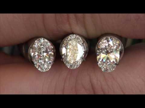 Oval Diamond Comparison