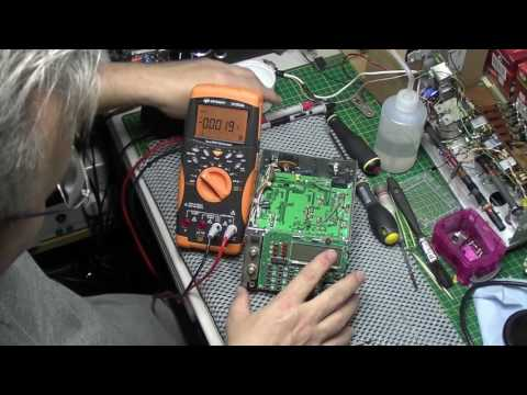 AOR AR3000 communications receiver repair part 1: The battery