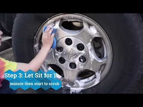 How to Clean Chrome Rims on Your Car