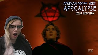 American horror story: Apocalypse 8x08 'Sojourn' REACTION