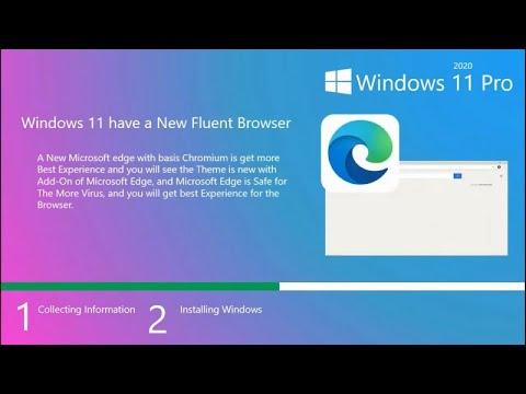 Windows 11 OS 2020 Version - YouTube