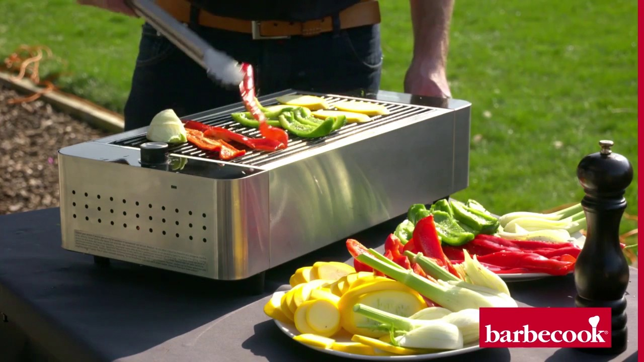 Barbecook Holzkohlegrill Carlo Test : Le barbecue de table karl barbecook et ses légumes grillés