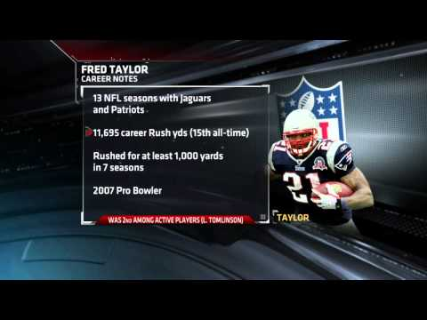 Fred Taylor retires