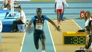 Will Claye Triple Jump  17.70 World Indoor Championship Istanbul