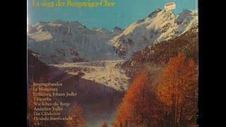 LA MONTANARA - ES SINGT DER BERGSTEIGER CHOR - UNTER LEITUNG VON EDI PFISTER - side 2 of 2