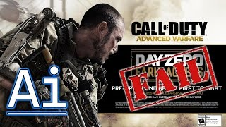 COD: Advanced Warfare Day Zero Edition FAIL on XB1 & PS4
