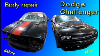 Dodge Challenger Кузовной ремонт в Армении/Body repair in Armenia