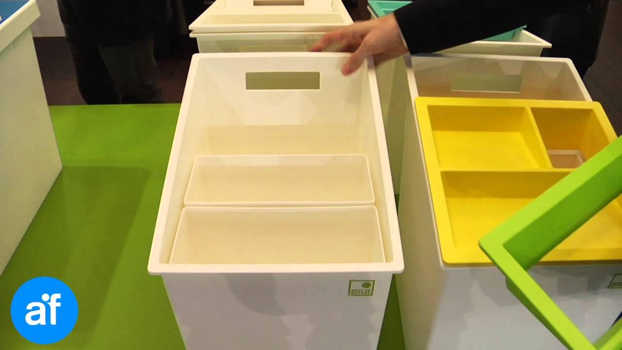 Cestini Raccolta Differenziata Casa contenitori d'arredo per la raccolta differenziata - mattiussi ecologia a  ecomondo 2014