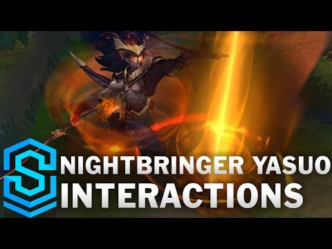 Nightbringer Yasuo Special Interactions