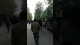 西安市高陵区居民抗议建垃圾焚烧场,当地政府调集军警镇压