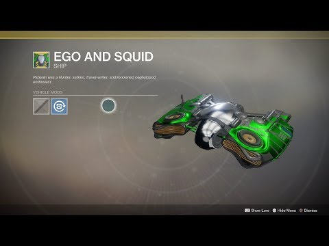 Destiny 2 Exotic Ships, Sparrows, And Ornaments