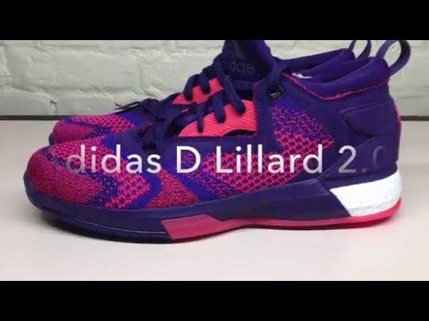 592682899ad Adidas D Lillard 2.0 Boost PRIMEKNIT Unboxing - YouTube