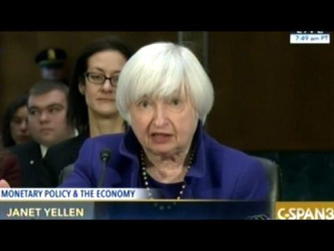 Federal Reserve Chair Janet Yellen On The U.S. Economic Outlook