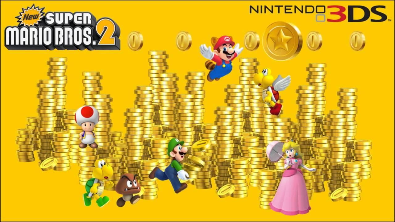 New Super Mario Bros 2 Music Mega Mushroom Youtube