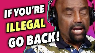 Illegal Alien Caller MUST Go Back Home