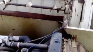 Fortschritt E514 dźwięk silnika podczas pracy.