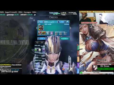 Mobius Final Fantasy - Hermit Job -...