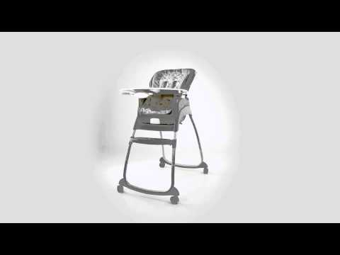 360º View of Ingenuity's Trio 3-in-1 Deluxe High Chair – Ashton