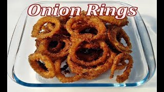How To Make Onion Rings? Crispy Onion Rings Recipe