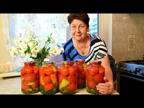 Перепробовала кучу рецептов, а лучше этого не нашла! Маринованные помидоры на зиму без стерилизации!