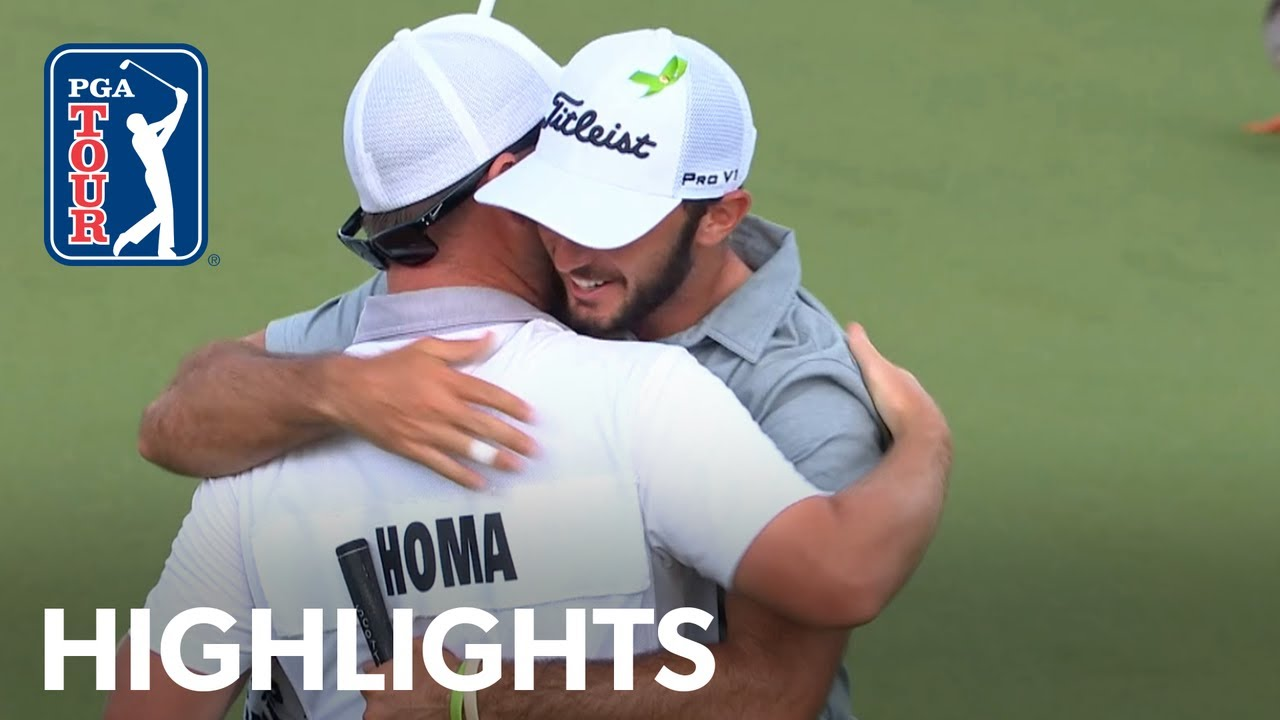 Max Homa's winning highlights from Wells Fargo 2019