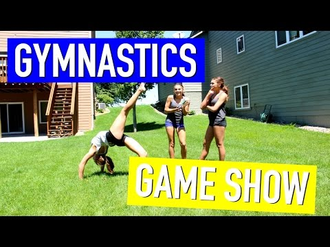 Gymnastics Game Show (Chain Reaction)