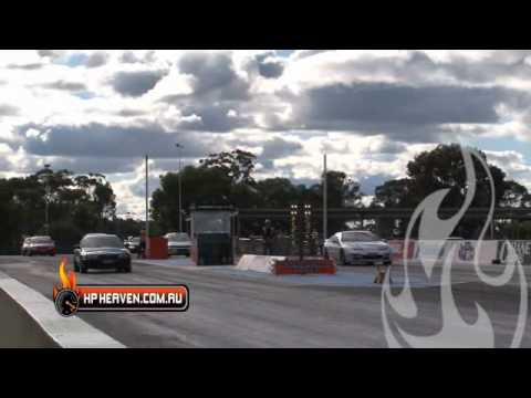 HEATHCOTE PARK RACEWAY SAU vs WRX Forum 03 07 2010 part 1