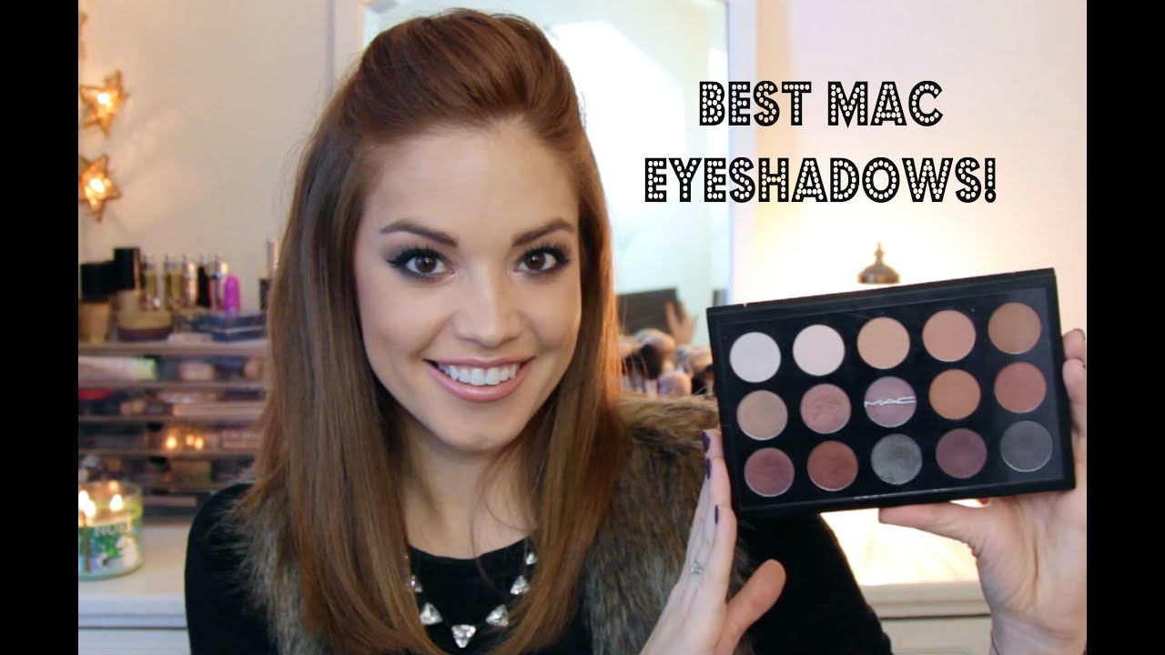 The Best MAC Eyeshadows! - YouTube