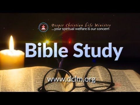 Monday Bible Study (October 2, 2017)