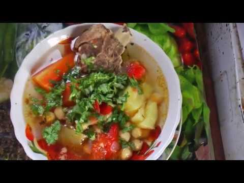 таджикский суп  хомшурбо