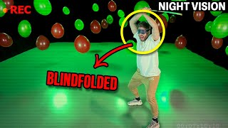 """INSANE """"POPPING IN THE DARK"""" CHALLENGE (Crazy Forfeits)"""