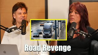 Road Revenge | Theo Von and A Female Trucker