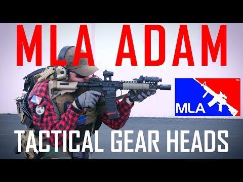 MLA Adam's Tactical Gear Heads - Airsoft GI