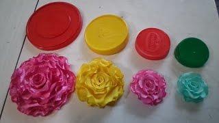 04 Flores de Tecidos Que Você vai Aprender de Forma Simples e Rápida