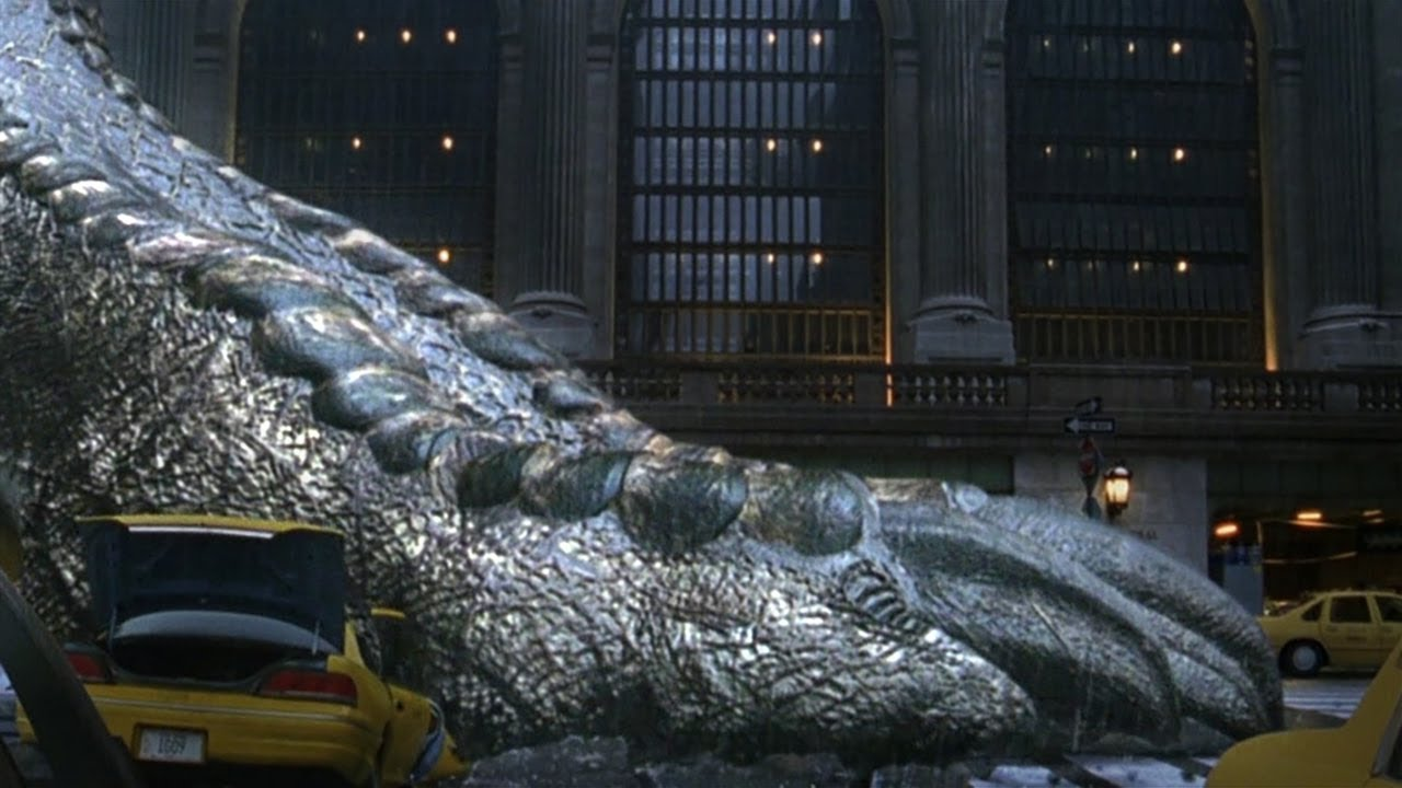 变异巨兽一出生就怀孕-一次产蛋200枚-靠繁殖占领全世界-速看科幻电影-哥斯拉