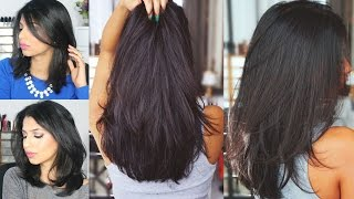 How to grow hair REALLY FAST! | Natural Hair Mask! Only two ingredients!(Additional information here... Hey guys! This mask has transformed my hair completely and I LOVE the results so much! Amla powder is so good for your hair!, 2015-09-11T19:32:59.000Z)