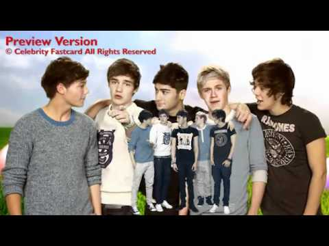 One direction celebrity fast card