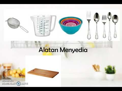 Alatan Dan Kelengkapan Dapur