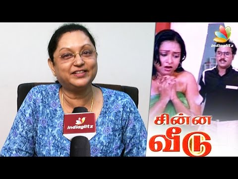 Asia's first woman cinematographer B. R. Vijayalakshmi Interview | Bhagyaraj Chinna Veedu, Rajini