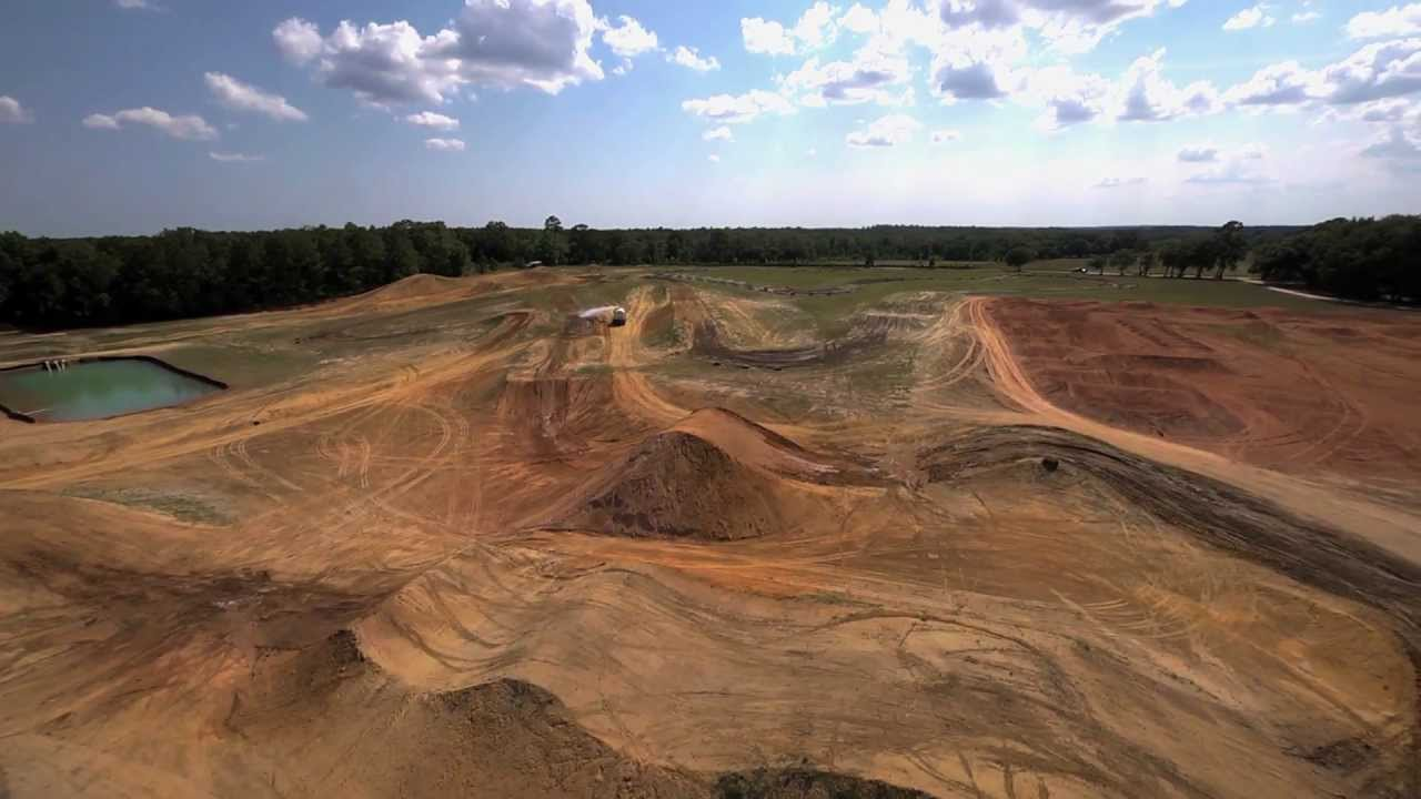Building Justin Barcia\'s - The Dream Motocross Track - YouTube