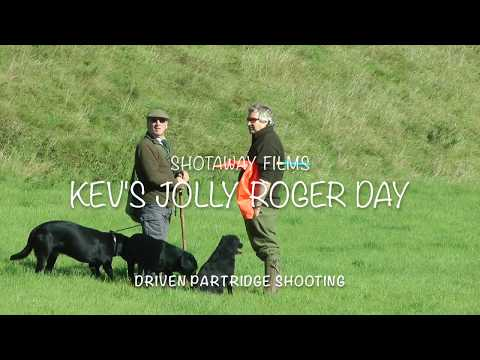 Driven Partridge Shooting on ''Kev's Jolly Day''