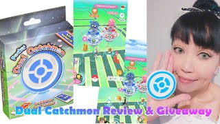A single autocatch/spin device for 2 phones! Dual Catchmon review & giveaway!